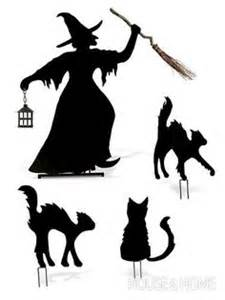 witch template witch silhouette on silhouettes