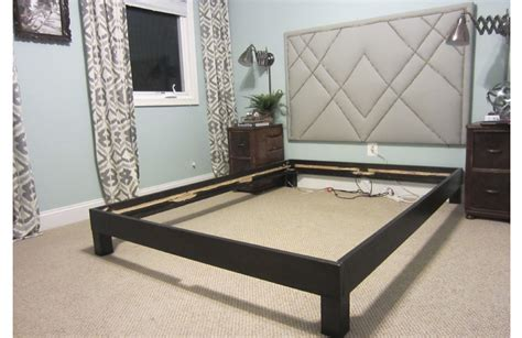 bed without box spring how to convert a platform bed for a box spring little