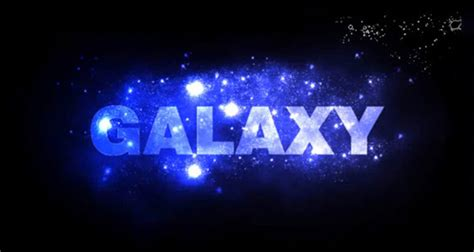 font design galaxy 25 text effect tutorials for photoshop