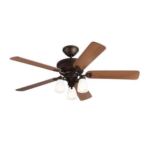 monte carlo bravo 52 in english bronze indoor ceiling fan