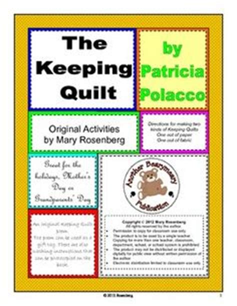 The Keeping Quilt Activities by The Keeping Quilt Vocabulary Activity Worksheets