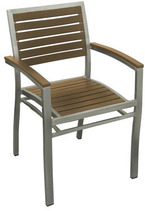 aluminum patio chairs aluminum patio arm chair with plastic teak