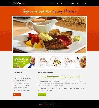 Free Food Delivery Web Template Plantillas Web Gratis Grocery Delivery Website Template