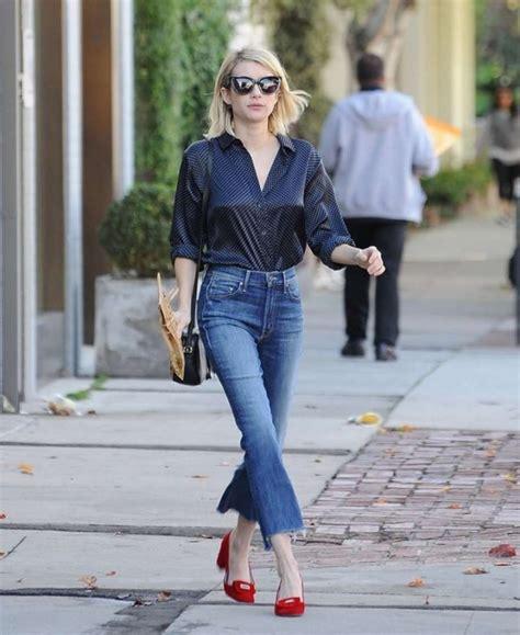 Hm Sweater Coco Fit L blouse denim fall flats