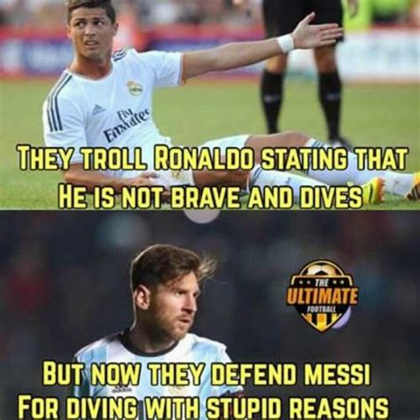 messi meme 28 images soccer messi vs ronaldo memes