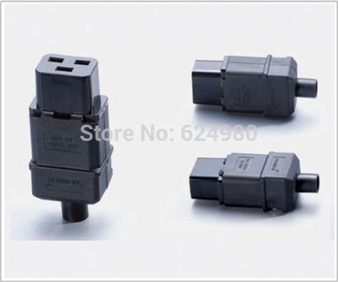 Ac Ups C19 universal standard iec320 c19 ac electrical power cable cord connector ups pdu removable socket