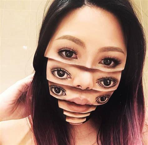 Makeup Makeover Komplit illusory makeup portraits by canadian makeup artist
