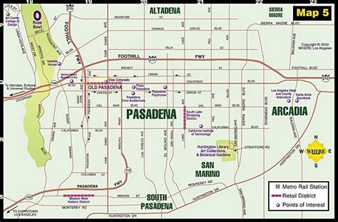 map of pasadena california 1000 ideas about pasadena map on pasadena