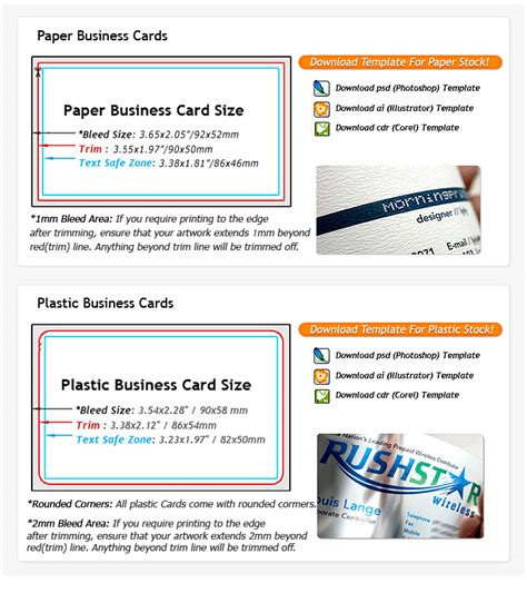 Pvc Card Template Coreldraw by Professional Color Business Cards Order Cards Design