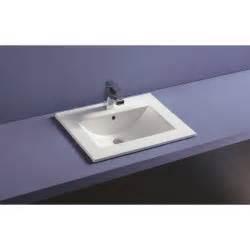 plan vasque c 233 ramique 224 encastrer thin profondeur 46 cm