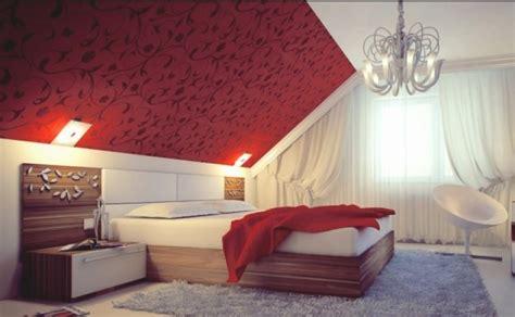 schlafzimmer mit dachschräge tapeten schlafzimmer dachschr 228 ge olegoff