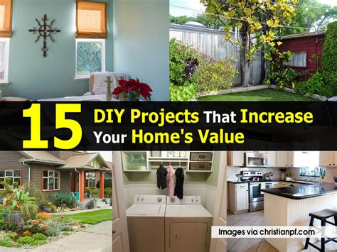 15 diy projects that increase your home s value