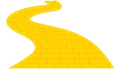 coloring pages of the yellow brick road wizard of oz clipart yellow brick road clipartxtras