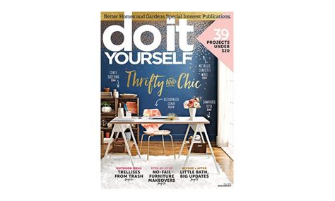 do it yourself magazine up to 50 off livingsocial