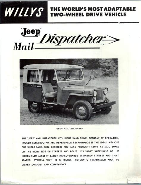 jeep mail ewillys your source for jeep and willys deals mods and more