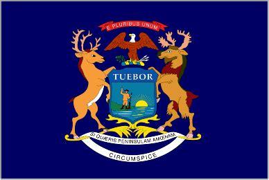 Michigan The 26th State by Michigan Flags Michigan Flag Mi Flags Mi Flag