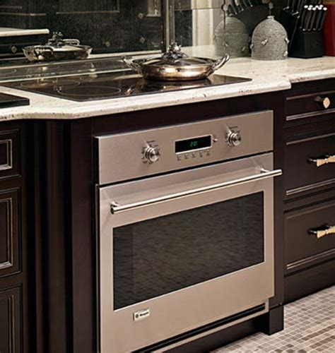 undercounter gas oven an induction cooktop a wall oven it can happen