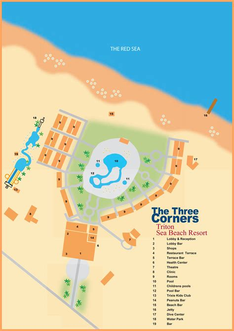 three corners equinox resort map threecorners 187 sea resort