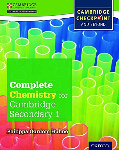 libro complete chemistry for cambridge libro complete chemistry for cambridge igcse secondary 1 checkpoint student s book con