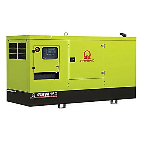 pramac gsw150p diesel generator standby generator