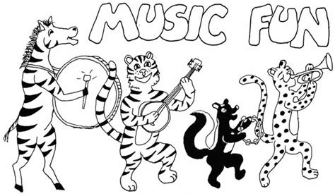 orchestra coloring pages for preschoolers coloring pages