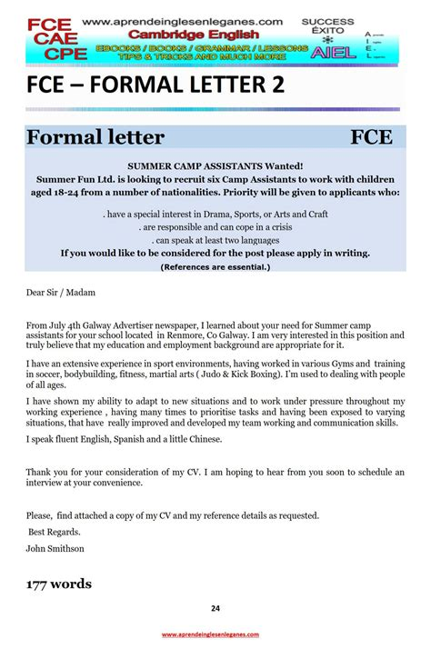 Essay Of Article by Exle Essay Exle Article Fce Writing Cae Writing