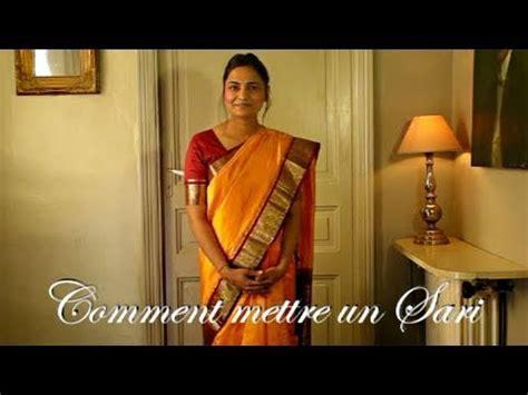 comment mettre un lustre comment mettre un sari ou saree indien