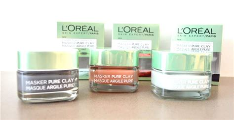 Loreal L Oreal Clay Masker l or 233 al clay maskers i scream