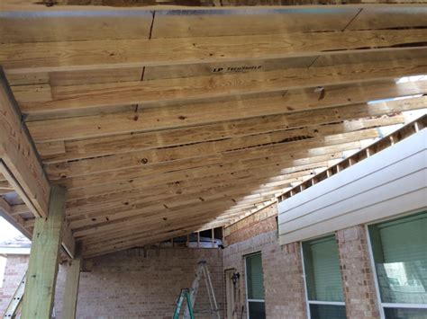 framing a patio cover framing a covered deck pictures to pin on