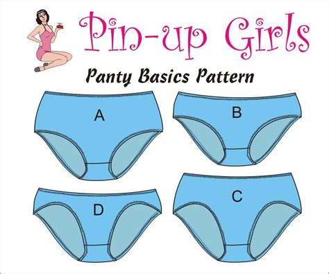 pin up pattern free the panty basics pattern by pin up girls