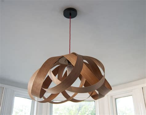 Wooden Ceiling Light Shades Random Lights Large Lshade Cherry Wood