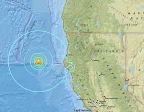 us geological survey earthquake map california usgs 6 5 magnitude quake in california coast