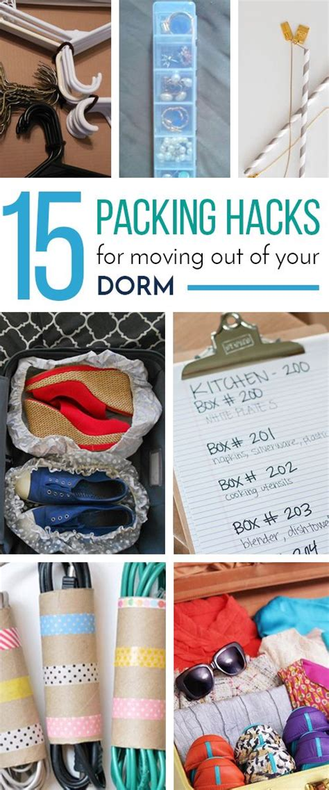 moving and packing hacks 15 packing hacks for moving out of your dorm packing
