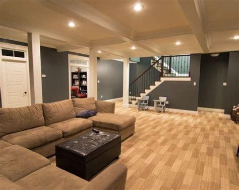 Interior Paint Colors for Basements
