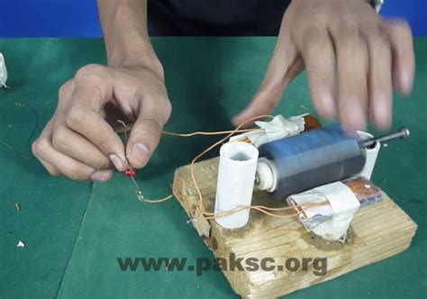 diy project make your own simple ac generator stem