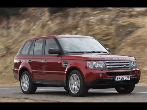 range rover sport speed 2008 land rover range rover sport front and side speed