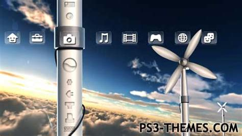 themes ps3 hd dynamic ps3 themes 187 wind dynamic theme hd