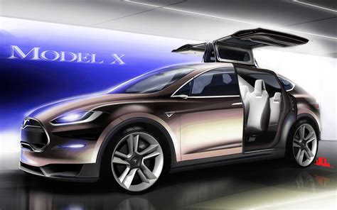The Tesla Tesla Model X Wallpaper Hd Car Wallpapers