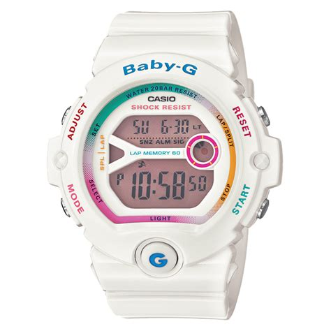 Baby G Sherina White Rainbow baby g watches