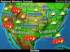 Weather In Today Usa Weather And Forecast Information On Weatherbug