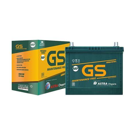 jual trade in gs maintenance free n70z aki mobil 12 v