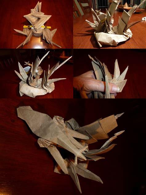 Origami Kraken - 400 attack of the kraken setting the crease