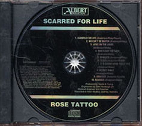 rose tattoo scarred for life scarred for album cd records