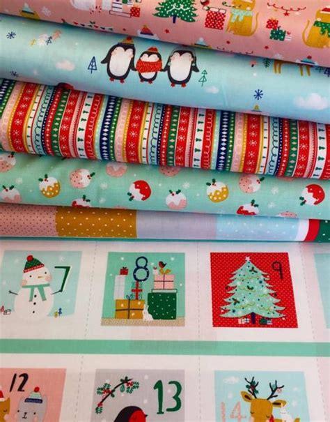 Fabric Advent Calendar Fabric Advent Calendar The Craft Studio