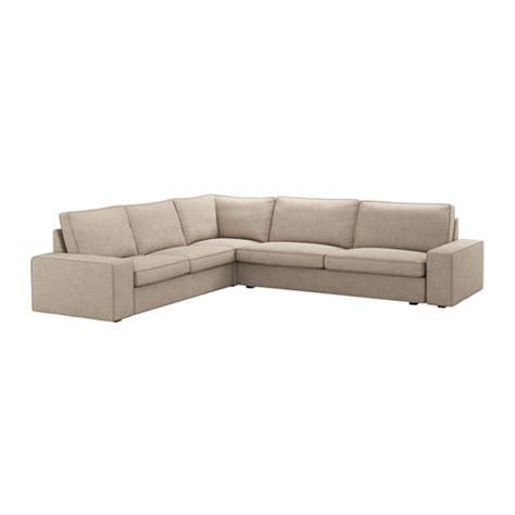 kivik corner sofa 2 3 3 2 hillared beige ikea