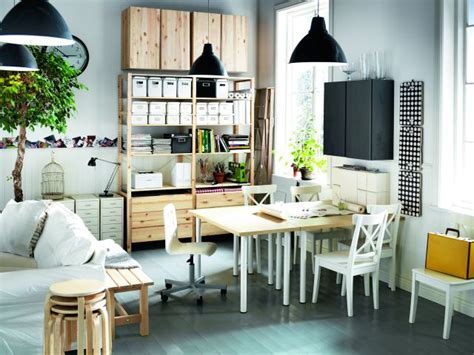 small black and white home office inspirations aranżacje ikea wnętrza w skandynawskim stylu style