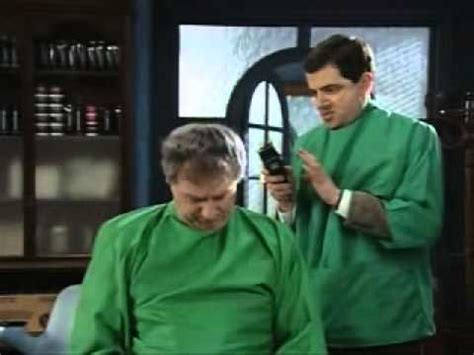 mr bean hair cut presented to you by mr bean fan club mr bean hair by mr bean of london 1 2 youtube