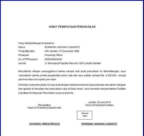 Contoh Hasil Notulen Tentang Proyek Btn by Surat Pernyataan Contoh Surat Indonesia