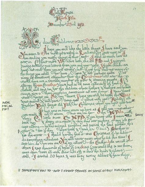 Modèle De Lettre Au Père Noel En Anglais Augreduvent Lettres Du P 232 Re No 235 L