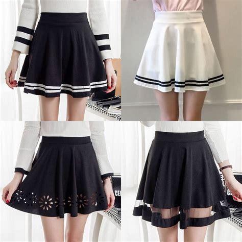 high waist pleated skirt skirt yv youvimi